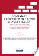 Libro de Contratas Y Subcontratas En El Sector De La Construcción (e Book)