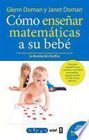 Libro de Cómo Enseñar Matemáticas A Su Bebé