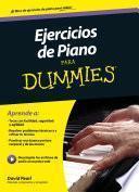 Libro de Ejercicios De Piano Para Dummies