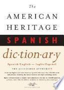 Libro de The American Heritage Spanish Dictionary
