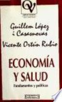 Libro de Economía Y Salud