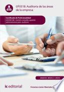 Libro de Auditoría De Las áreas De La Empresa. Adgd0108