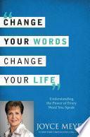 Libro de Cambia Tus Palabras, Cambia Tu Vida