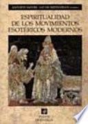 Libro de Espiritualidad De Los Movimientos Esotéricos Modernos