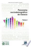 Libro de Panorama Sociodemográfico De Oaxaca