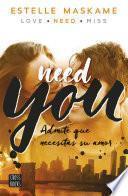 Libro de You 2. Need You