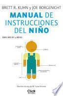 Libro de Manual De Instrucciones Del Niño