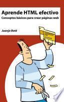 Libro de Aprende Html Efectivo