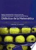 Libro de Bases Filosóficas, Pedagógicas, Epistemológicas Y Conceptuales De La Didáctica De La Matemática