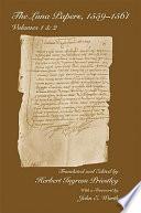 Libro de The Luna Papers, 1559–1561