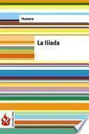 Libro de La Ilíada (low Cost). Edición Limitada