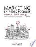 Libro de Marketing En Redes Sociales