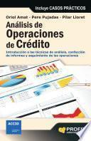 Libro de Análisis De Operaciones De Crédito