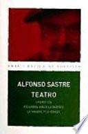 Libro de Teatro Alfonso Sastre