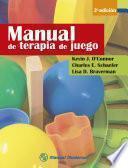 Libro de Manual De Terapia De Juego