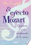 Libro de Efecto Mozart