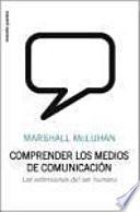 Libro de Comprender Los Medios De Comunicación