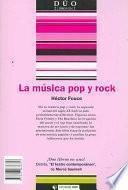 Libro de La Música Poprock Y El Teatro Contemporáneo