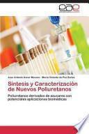 Libro de Síntesis Y Caracterización De Nuevos Poliuretanos