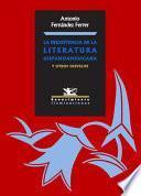 Libro de La Inexistencia De La Literatura Hispanoamericana
