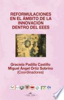 Libro de Reformulaciones En El Ambito De La Innovacion Dentro Del Eees