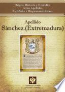 Libro de Apellido Sánchez.(extremadura)