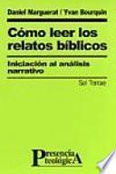Libro de Cómo Leer Los Relatos Bíblicos