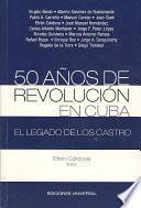 Libro de 50 Años De Revolución En Cuba