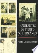 Libro de Habitantes De Tiempo Subterráneo
