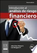 Libro de Intrducción Al Análisis De Riesgos Financiero
