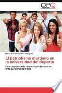 Libro de El Patriotismo Martiano En La Universidad Del Deporte