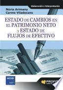 Libro de Estado De Cambios En El Patrimonio Neto Y Estado De Flujos De Efectivo
