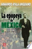 Libro de La Epopeya De México Tomo 2