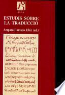 Libro de Estudis Sobre La Traducció