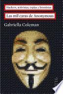 Libro de Las Mil Caras De Anonymous