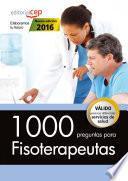 Libro de 1000 Preguntas Para Fisioterapeutas