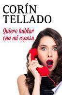 Libro de Quiero Hablar Con Mi Esposa