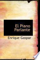 Libro de El Piano Parlante