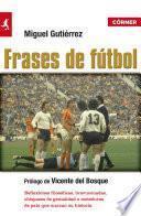 Libro de Frases De Fútbol