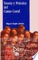 Libro de Teoría Y Práctica Del Canto Coral
