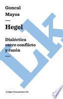 Libro de Hegel. Dialéctica Entre Conflicto Y Razón