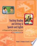 Libro de Teaching Reading And Writing In Spanish And English In Bilingual And Dual Language Classrooms