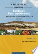 Libro de Fundación Finca Experimental Universidad De Almería   Anecoop