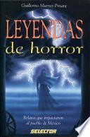 Libro de Leyendas De Horror