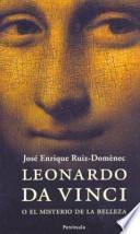 Libro de Leonardo Da Vinci O El Misterio De La Belleza