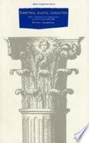 Libro de Simetría, Gusto Y Carácter