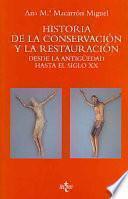 Libro de Historia De La Conservación Y La Restauración