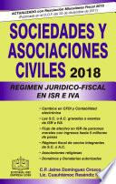 Libro de Sociedades Y Asociaciones Civiles RÉgimen JurÍdico Fiscal Epub 2018