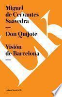 Libro de Don Quijote. Visión De Barcelona