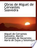 Libro de Obras De Miguel De Cervantes Saavedra